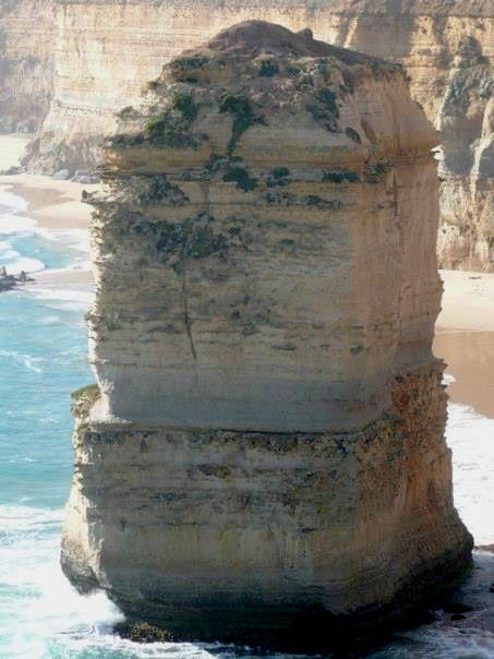 The 12 Apostles (approximately 45 metres in height)